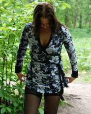Preview Dirty Public Nudity - Babes in stockings urinating in the woods