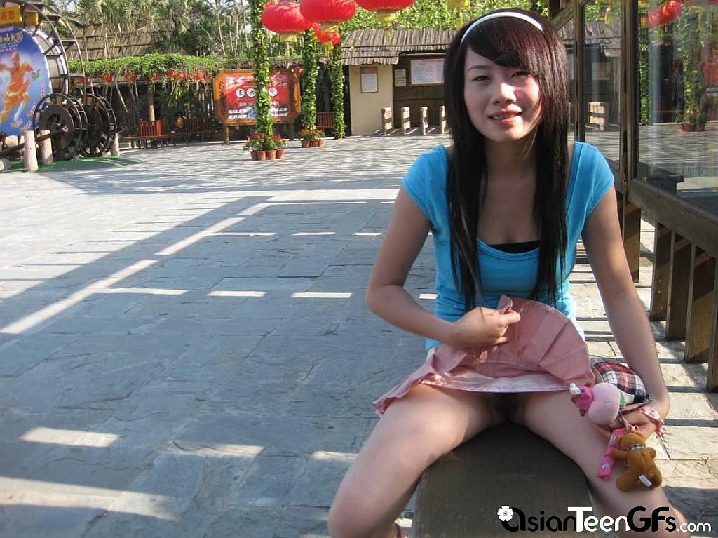 Busty asians striptease