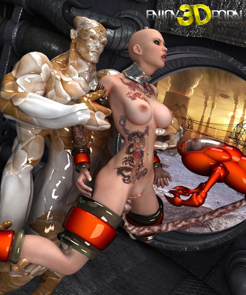Fucked hard by alien sexy movie