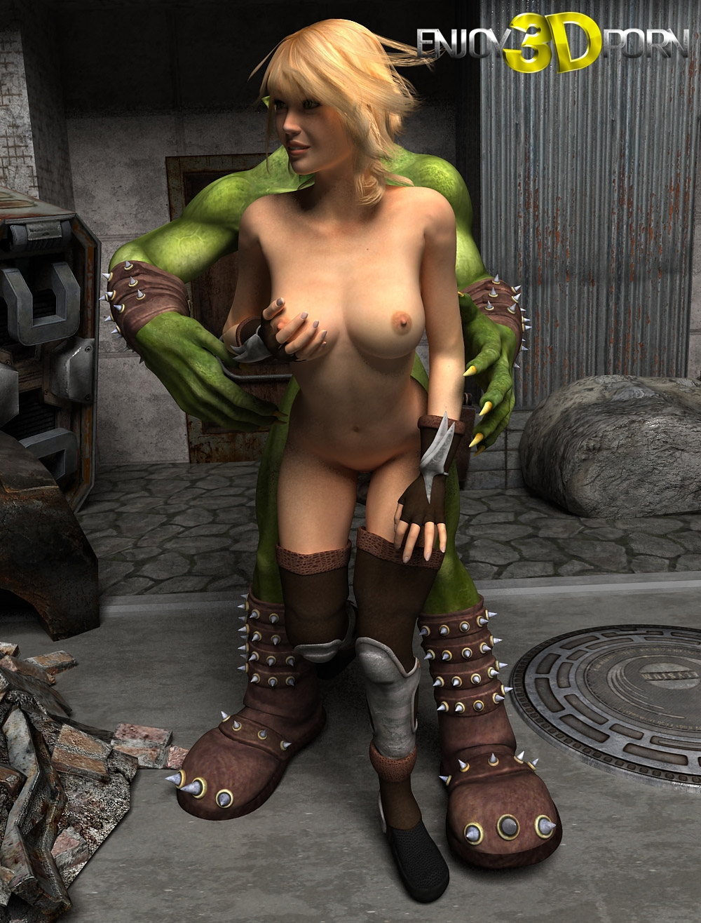 Female orc warrior porn porn videos