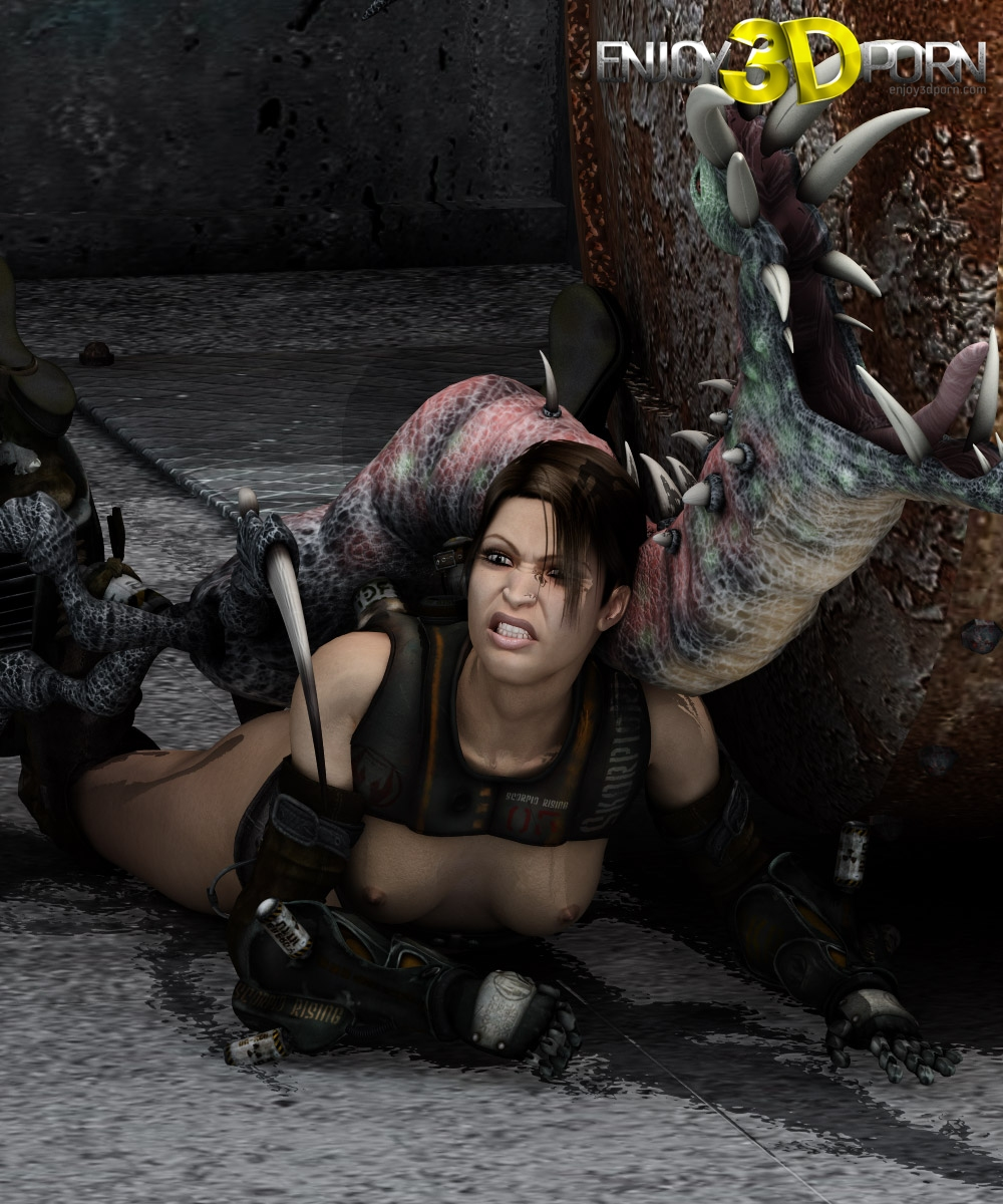 Fucked hard by alien sexy image