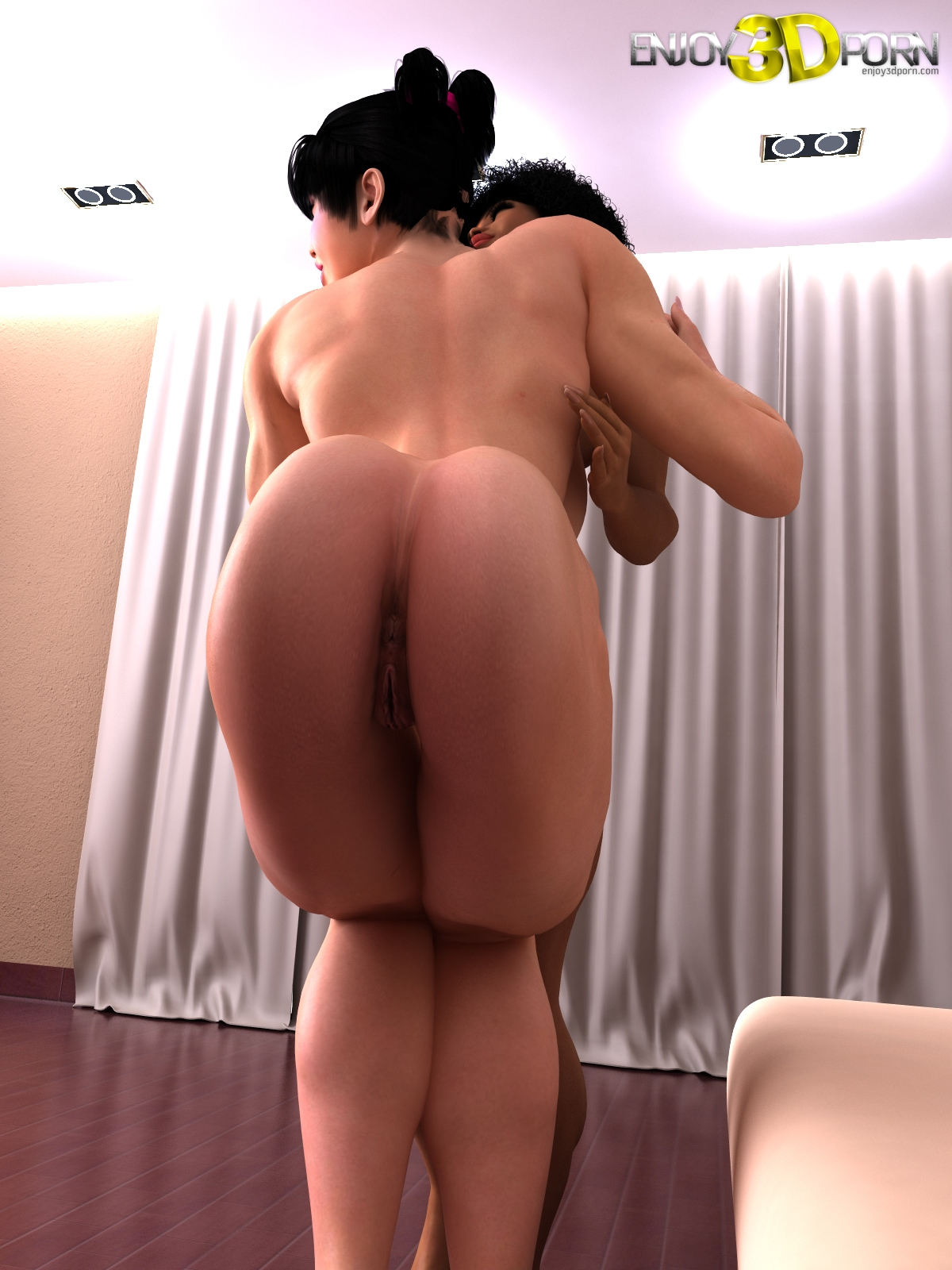 big sexy naked butts