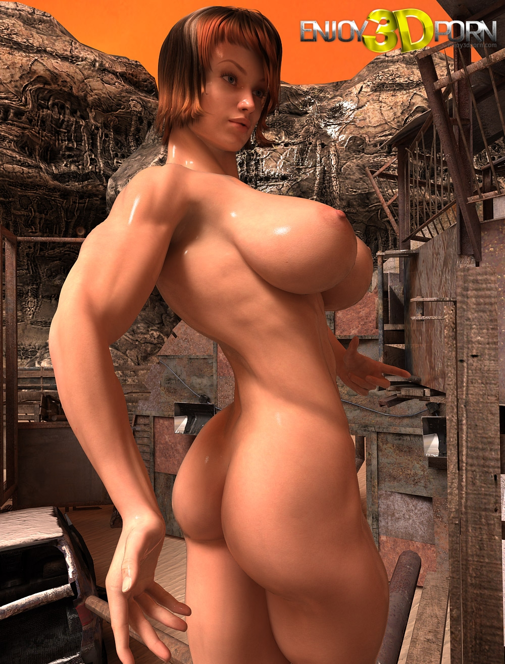 Busty 3d muscle galleries xxx image