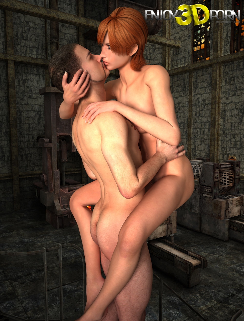 3d redhead getting fucked by an alien spider 9