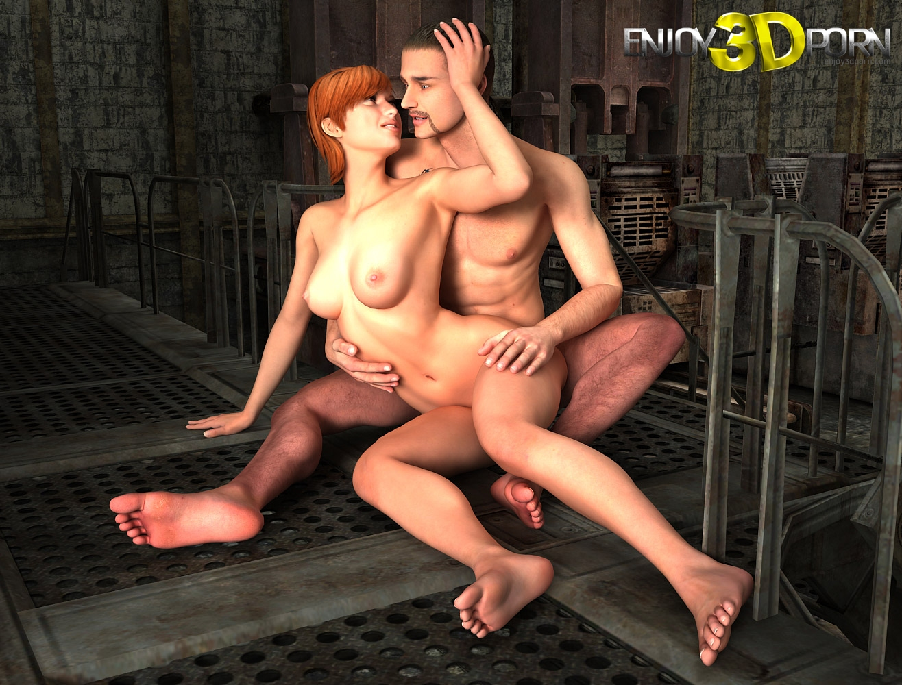 3d redhead getting fucked by an alien spider 4