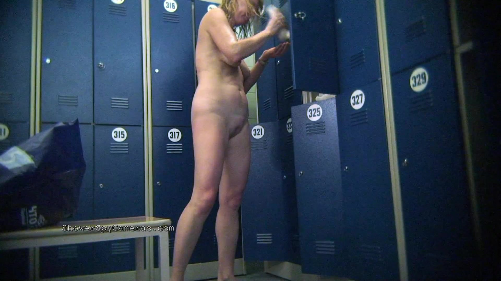 Videos of locker room voyeur