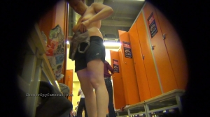 Doccia Telecamere Spione: Voyeriste gode filming signore vecchie in locker stanze